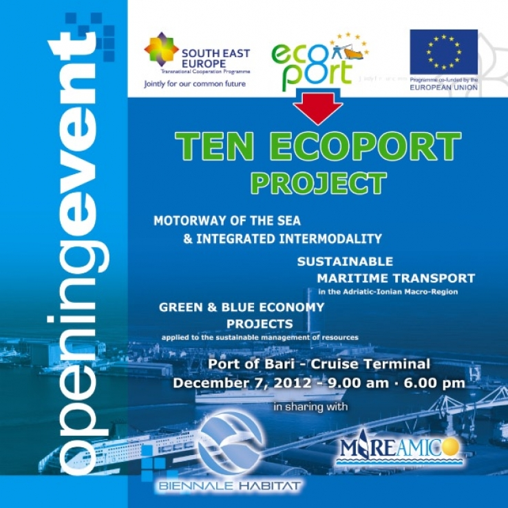 07.12 / Opening event TEN_ECOPORT Project